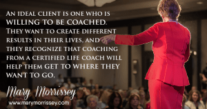 Have you reached the point in your life coaching business when it's time to raise your rates? Once you reach a certain level of success as a heart-centered coach, there will come a point when it's time for you to increase the rate you're charging for your services. Learn to identify the right time to do it with Mary Morrissey - Life Mastery Institute