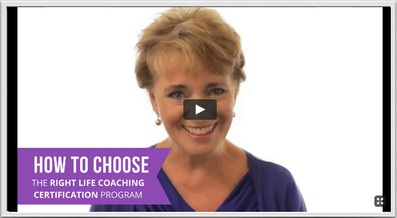 how to choose the right life coaching certification video