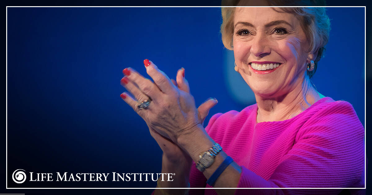 public speaking tips mary morrissey clapping
